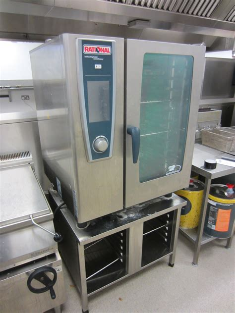 rational combi oven scc we 101 white efficiency self