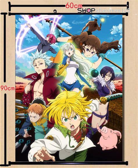 anime   deadly sins meliodas poster wall home