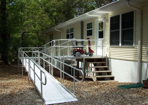 tj rampit aluminum wheelchair ramp system access lifts