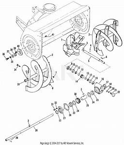 Gravely 835033  000101  Impeller And Gear