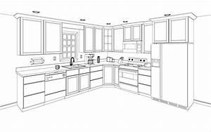 Inspiring kitchen cabinets layout 14 free kitchen cabinet for Kitchen cabinets lowes with wall art sketches