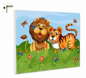 Magnettafel Für Kinder : pinnwand magnettafel memoboard motiv kinder l we tiger ebay ~ Frokenaadalensverden.com Haus und Dekorationen