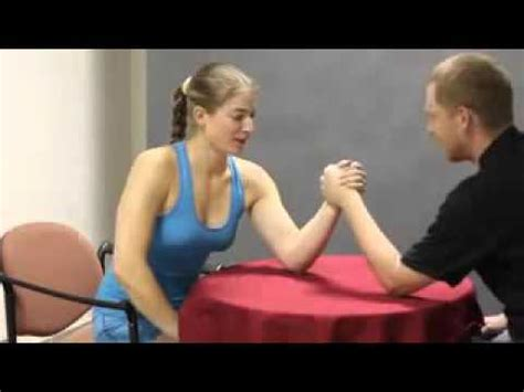 Athlete Barbora Woman Armwrestling New Update 29032016 Youtube