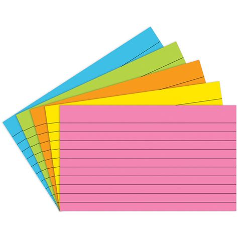 4x6 index card index cards 4x6 lined 75 ct brite index cards top363