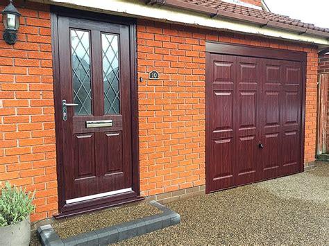 hormann garage doors hormann georgian in rosewood pennine garage doors
