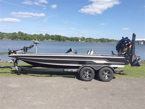 Bass Boats by Used Skeeter Zx 225 Bass Boats For Sale Boats