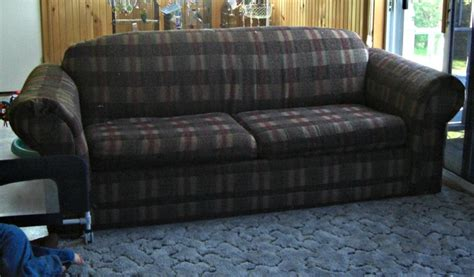 How To Reupholster A Sleeper Sofa by Recover A Sofa Sleeper From S Middle Ground