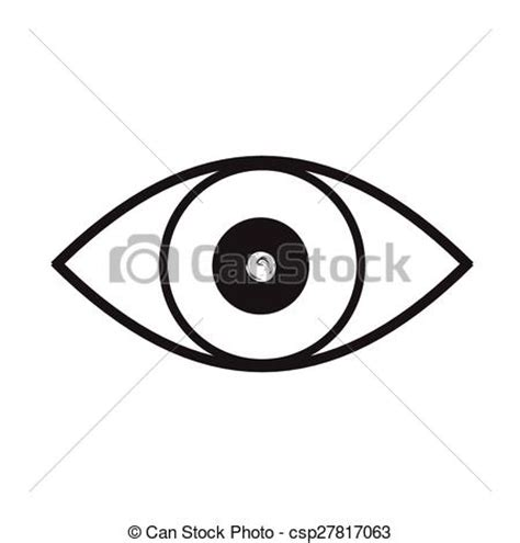 simple eye clipart black and white clip vector of eye black and white vector eye black