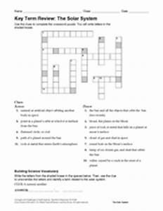 Solar System Review Crossword Puzzle Answers (page 3 ...