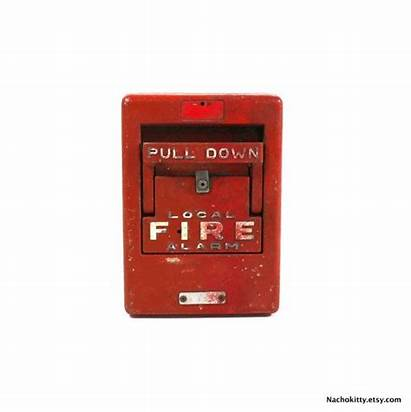 Fire Alarm 1960s Working Industrial Alarms