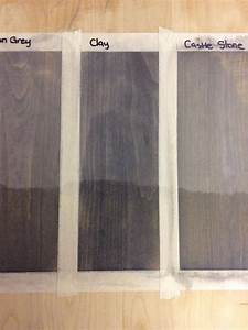 Saman Stain Samples Of Urban Grey Clay And Castle Stone