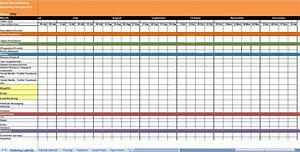 Create custom content with a marketing editorial calendar for Campaign schedule template