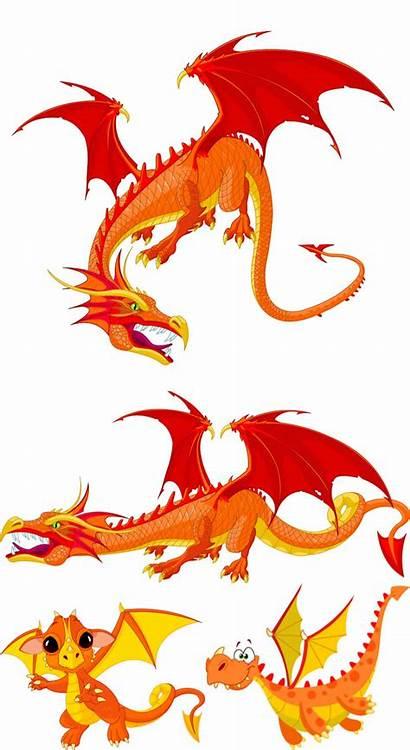 Vector Dragons Dragon Clipart Cartoon Clip Graphics