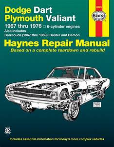 Dodge Dart  U0026 Plymouth Valiant Covering Dodge Dart  Demon  Plymouth Valiant  Duster With 6