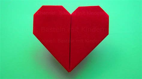 origami heart     paper heart mothers day