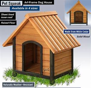 what39s the best dog house reviews keep your dog warm With pet squeak arf frame dog house