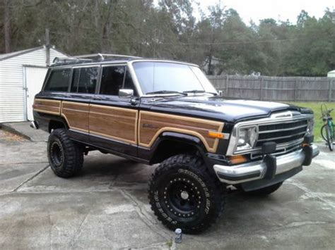 1989 jeep grand wagoneer sell used 1989 jeep grand wagoneer base sport utility 4