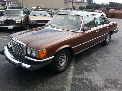 Find Used 1979 Mercedes-benz 300sd Base Sedan 4-door 3.0l