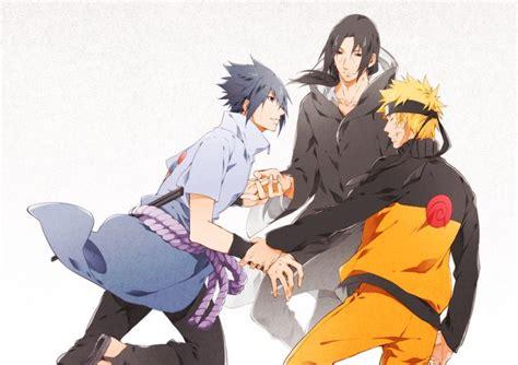 Sasuke, Itachi And Naruto