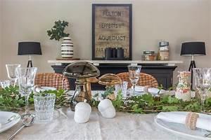 Festlich Gedeckter Tisch : pilzrisotto und herbstliche deko aufgetischt ~ Eleganceandgraceweddings.com Haus und Dekorationen