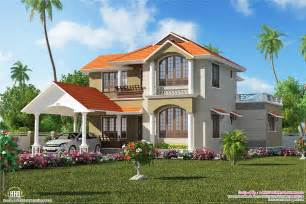 colonial floor plan modern villas kerala small house designs