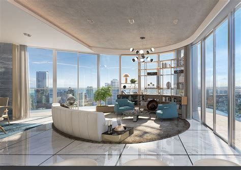 And Interiors by Luxury Condos In Brickell Miami Brickell Condos Interiors