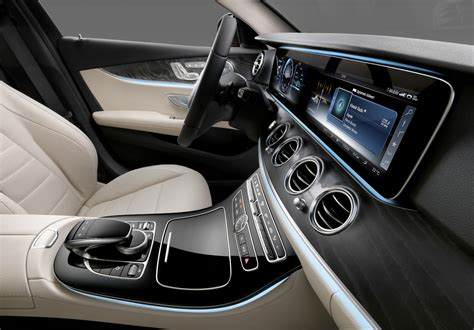 First look • features • review. 2016 Mercedes-Benz E-Class interior revealed - Photos (1 of 8)