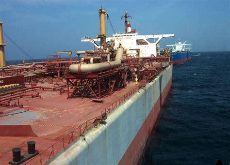 "Key points the fso safer was seized by houthi rebels in 2015 the tanker is holding more than a million barrels of crude oil وصول خبراء الأمم المتحدة إلى الناقلة"" صافر"" مسألة وقت - Souk Ukkaz News"