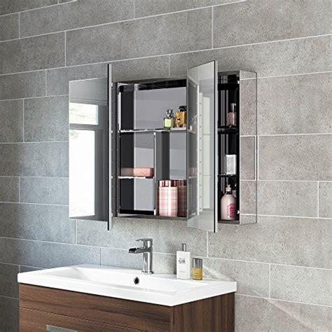 stainless steel bathroom mirror cabinet modern