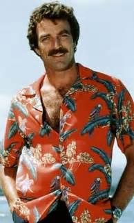Tom Selleck Hawaiian Shirt