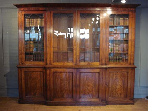 Bookcases With Cabinets by Sold A Magnificent 19th Century 4 Door Glazed Library
