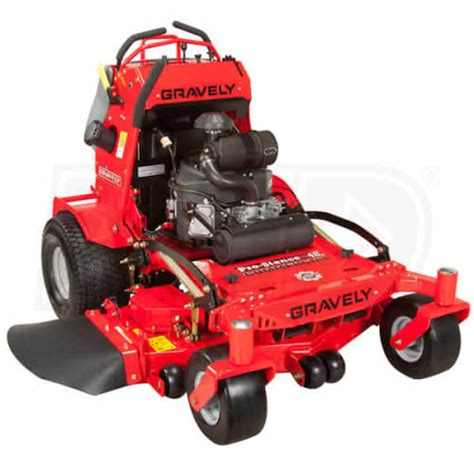 gravely 994112 pro stance 52fl 52 inch 22hp kawasaki 174 stand on lawn mower