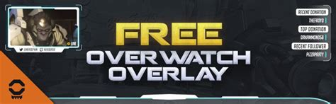 overwatch overlay mega pack  twitch  youtube