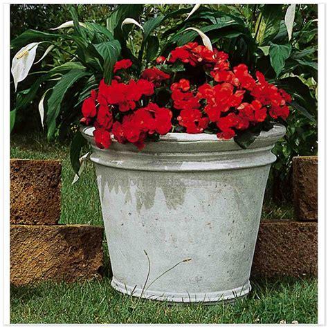 vasi per piante grandi vasi per esterno tondo 597tc871 arredo cemento