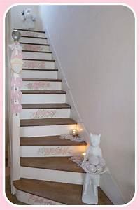 Treppe Shabby Chic : my shabby french life pink shabby rose hallway pinterest flur ideen treppe und ~ Frokenaadalensverden.com Haus und Dekorationen