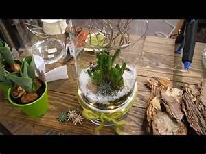 Glas Mit Lichterkette : diy winterhafte fr hlingsdeko im glas mit hyazinthen und lichterkette youtube ~ Yasmunasinghe.com Haus und Dekorationen