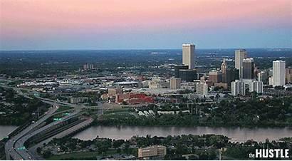 Tulsa Skyline Oklahoma Aerial Koki Cities Pay
