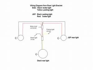 Auxiliary Rear Light Bracket - Loop Frames