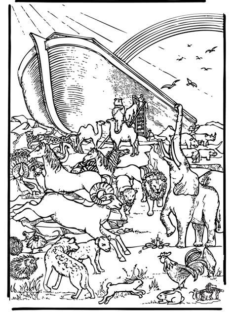Kleurplaten Oude Testament by Ark Noach 5 Bijbel Kleurplaten Oude Testament