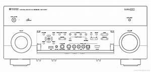 Yamaha Rx-v1067 User Manual