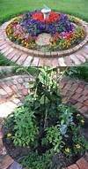 Top 19 Cool Ideas to Create a Round Garden Bed with circular flower garden designs
