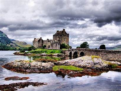 Scotland Eilean Donan Castle Wallpapers Desktop Background