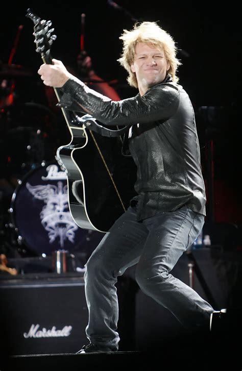 Jon Bon Jovi Photos Performing Perth