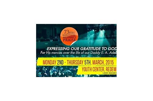 Rccg 73 hours praise download :: runricarco