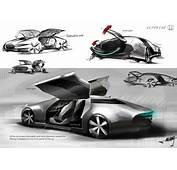 Futuristic Honda Zeppelin Luxury Sports Sedan Concept Was
