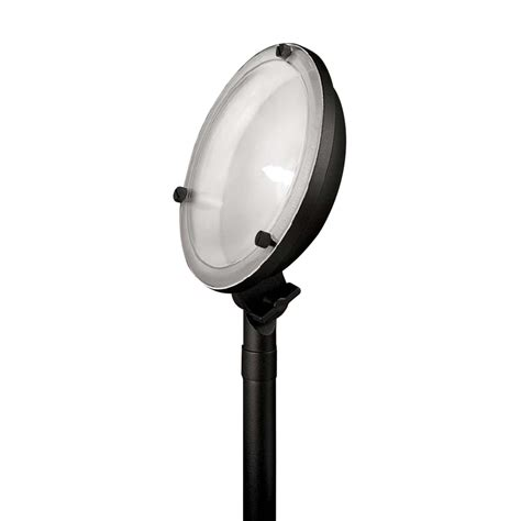 shop portfolio black low voltage halogen flood light at