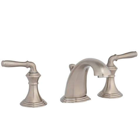kohler devonshire   widespread  handle  arc bathroom faucet  vibrant brushed nickel