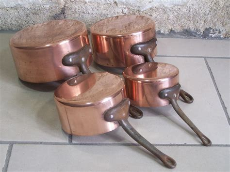 vintage french copper cookware beautiful copper cookware set copper pots french vintage