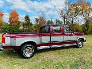 1988 Ford F350 Crew Cab Dually Diesel Pickup Extremely Low