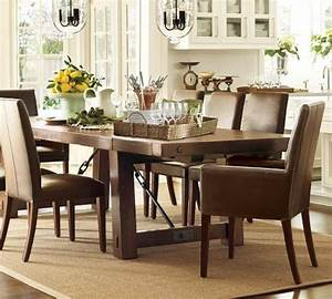 love the hardware on this reclaimed wood table especially With barn wood dining room sets